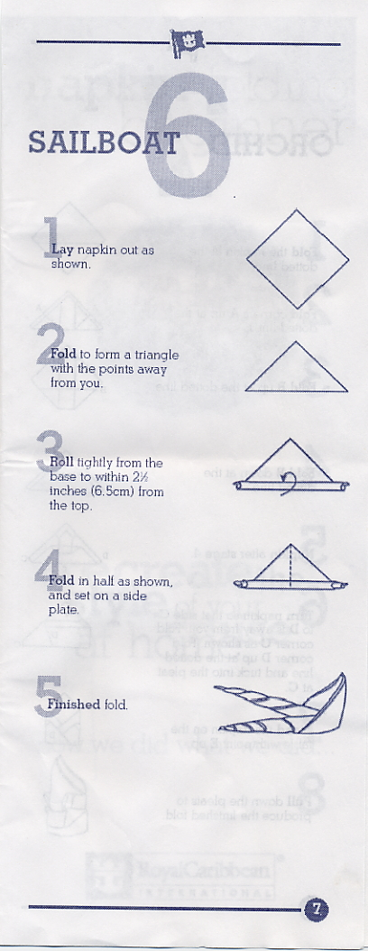 Pyramid Napkin Fold Step By Step Easy Directions With Pictures